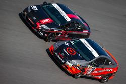 #93 HART Honda Civic SI: Chad Gilsinger, Michael Valiante, #76 Compass360 Racing Honda Civic SI: Adam Burrows, Ray Mason