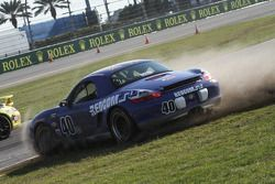 #40 Berg Racing Porsche Boxter: Ari Straus, Dinah Weisberg