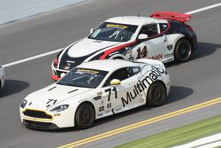 #71 Multimatic Motorsports Aston Martin Vantage: Tonis Kasemets, Michael Marsal en #14 Doran Racing