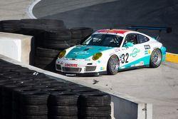 GT líder # 32 Konrad Motorsport / Orbit Porsche GT3: Michael Christensen, Christian Engelhart, Nick