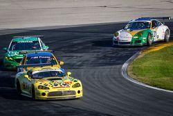 #87 Vehicle Technologies Dodge Viper: Tony Ave, Jan Heylen, Doug Peterson