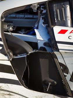 GT podio: dano no Audi Sport Customer Racing/AJR Audi R8 Grand-Am