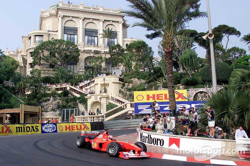 25. Mónaco 2000, Ferrari F1-2000