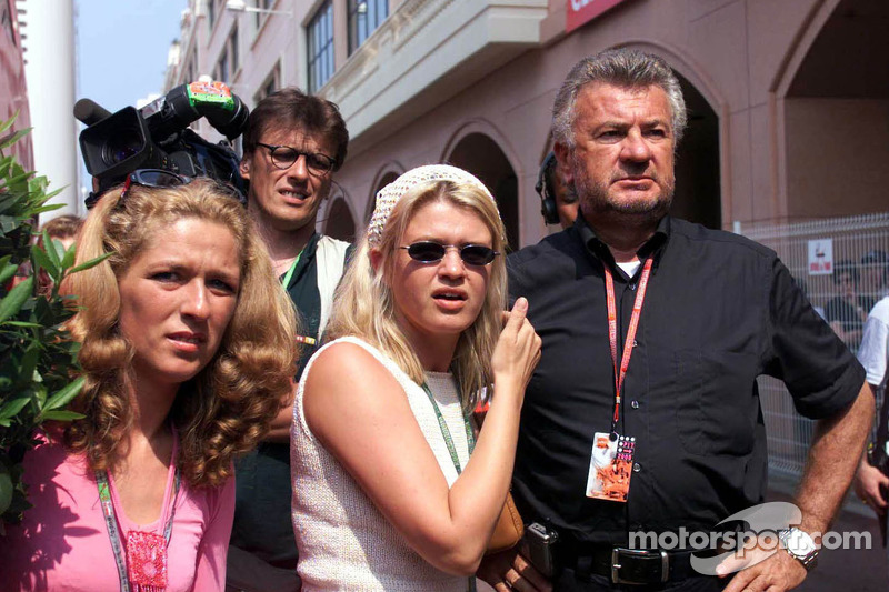 Michael Schumacher manager Willi Weber ve eşi Corinna Schumacher