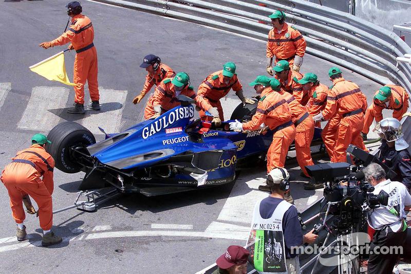 kazaed Prost Peugeot, Nick Heidfeld