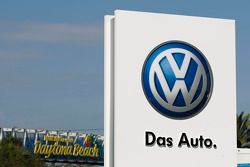 Volkswagen-Logo in Daytona
