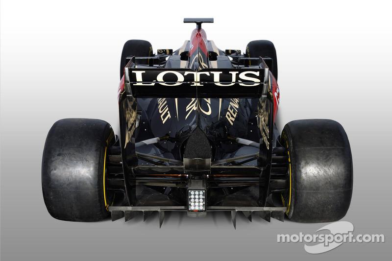 The 2013 Lotus F1 Team E21