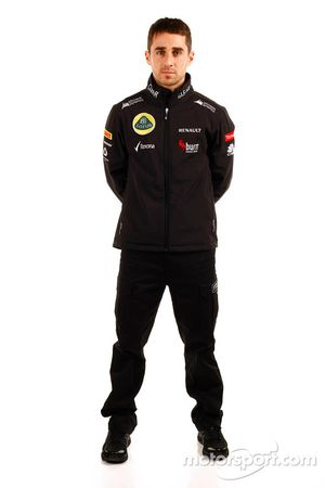 Nicolas Prost, Testfahrer, Lotus F1 Team