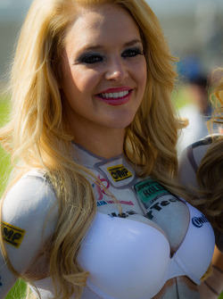 A WeatherTech girl