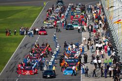 Largada grid pronto para as corrida