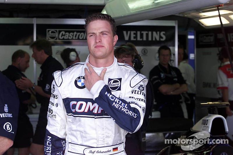 Ральф Шумахер. ГП Канады, Пятничная тренировка.