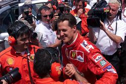 Poleman Michael Schumacher
