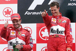 Podium: 1. Michael Schumacher, 2. Rubens Barrichello
