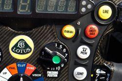 Lotus E21: Lenkrad