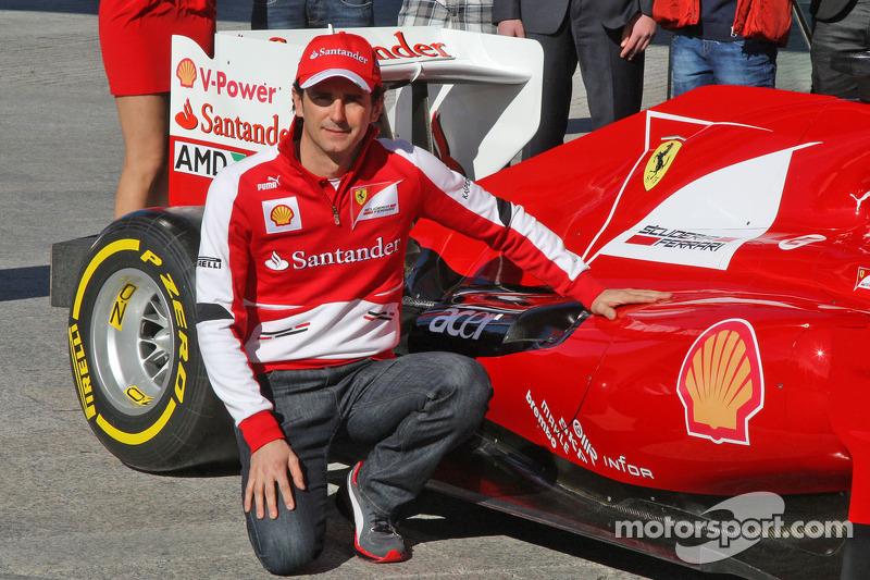 Педро де ла Роса (пилот по развитию Ferrari в 2013-2014 годах)