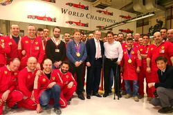 Alex Zanardi, Maranello'da ve Stefano Domenicali