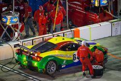 Pit stop #64 Scuderia Corsa Ferrari 458: Chico Longo, Raphael Matos, Xandinho Negrao, Daniel Serra
