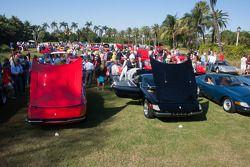 Ferraris on the Breakers lawn