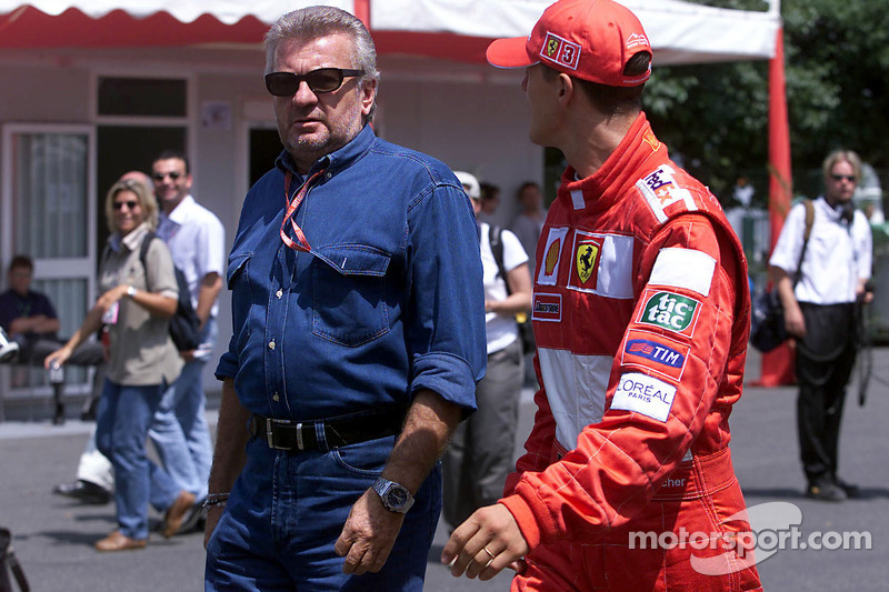 Willy Weber ve Michael Schumacher
