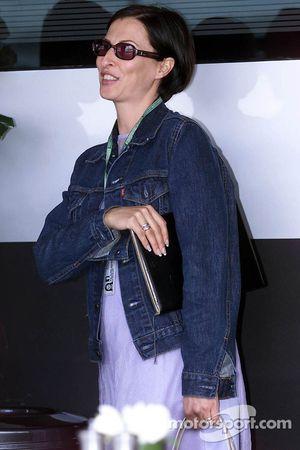 Erja Hakkinen esposa de Mika Hakkinen