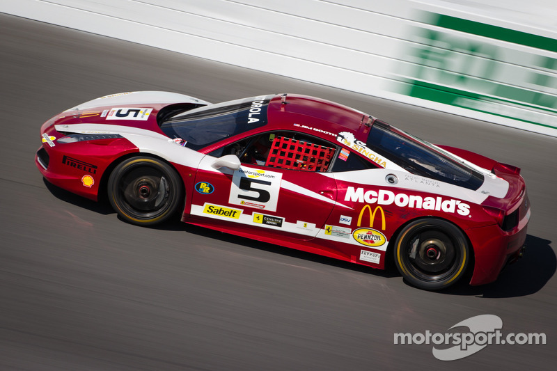 #5 Ferrari of Atlanta Ferrari 458: Jim Booth