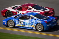 #5 Ferrari of Atlanta Ferrari 458: Jim Booth, #31 Ferrari of Ontario Ferrari 458: Damon Ockey