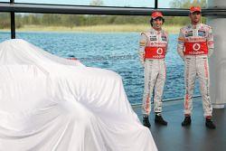 Sergio Perez, McLaren takım arkadaşı Jenson Button, McLaren