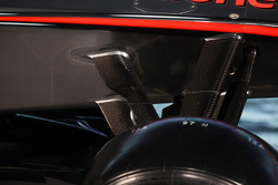 McLaren MP4-28 front suspension detail