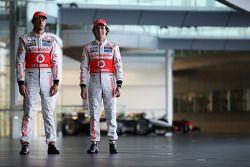 Jenson Button, McLaren ve Sergio Perez, McLaren