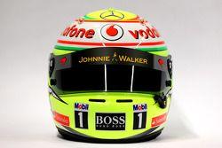 The, kask, Sergio Perez, McLaren