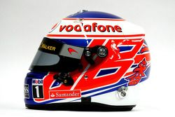 The, kask, Jenson Button, McLaren