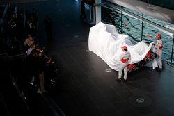 Sergio Perez, McLaren and team mate Jenson Button, McLaren unveil the new McLaren MP4-30