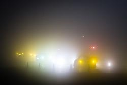 Disputa em um heavy morning fog