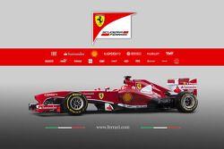 Презентация Scuderia Ferrari F138, Студийная фотосессия.