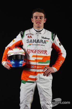 Пол ди Реста. Презентация Sahara Force India VJM06, Студийная фотосессия.