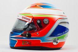 Le casque de Paul di Resta, Sahara Force India F1 Team