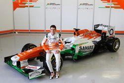 Paul di Resta, Sahara Force India F1 Team, mit dem VJM06
