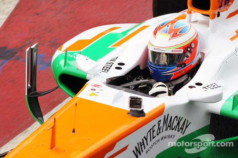 Paul di Resta, Sahara Force India F1 Team conduce el VJM06