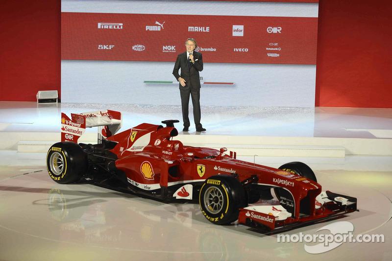 Luca di Montezemolo ve Ferrari F138