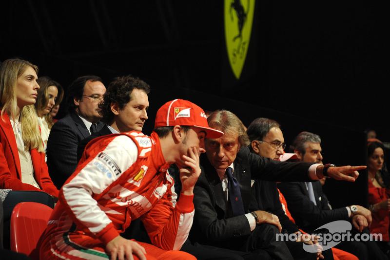 Luca di Montezemolo ve Fernando Alonso