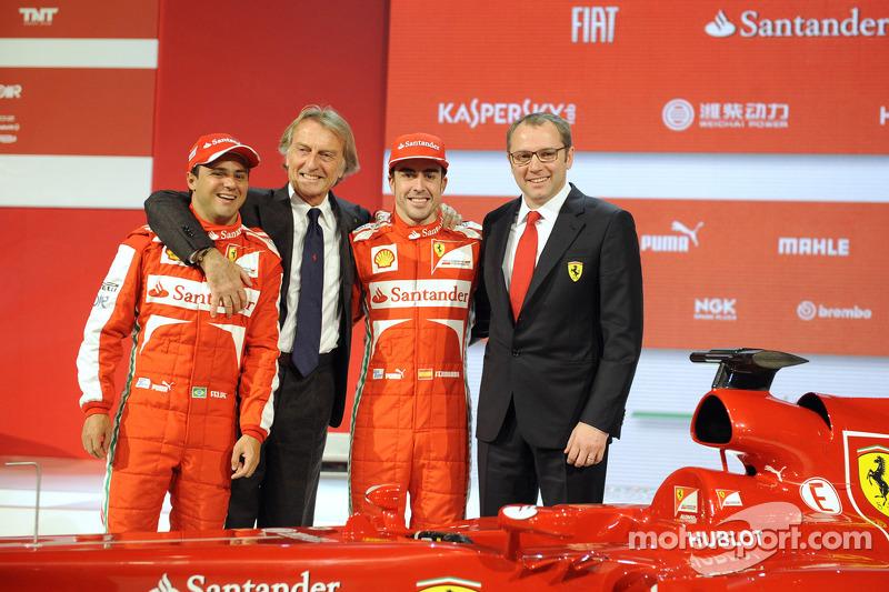 #7 - Fernando Alonso és Felipe Massa: 77
