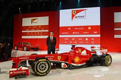 Scuderia Ferrari F138, Lanzamiento