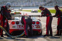 Pit stop #31 Marsh Racing Corvette: Eric Curran, Boris Said, Lawson Aschenbach, Brandon Davis