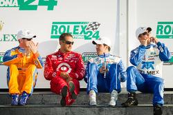 Vencedores na DP: Charlie Kimball, Juan Pablo Montoya, Memo Rojas e Scott Pruett