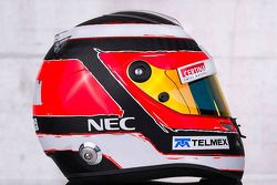 The, kask, Nico Hulkenberg, Sauber F1 Team