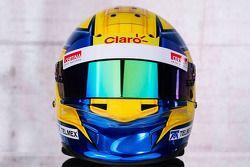 Helm von Esteban Gutierrez, Sauber F1 Team