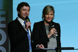 Bruno Vandestick and Céline Geraud
