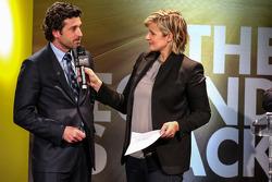 Céline Geraud con Patrick Dempsey