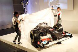 Esteban Gutiérrez, Sauber y su compañero Nico Hulkenberg, Sauber develan el Sauber C32