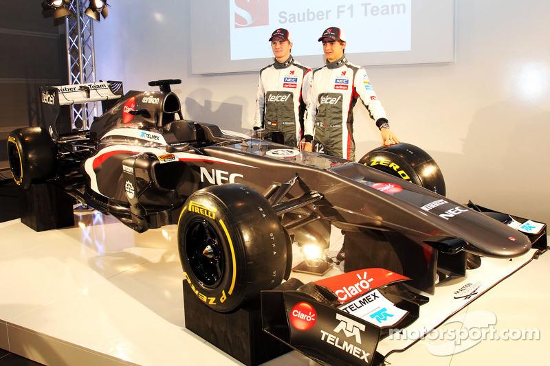 2013: Sauber C32